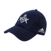 Adidas Navy Slouch Unstructured Low Profile Hat-Square and Compass with G