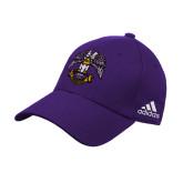 Adidas Purple Structured Adjustable Hat-Freemasons