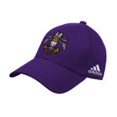 Adidas Purple Structured Adjustable Hat-Spes Mea In Deo Est