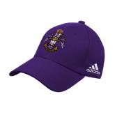 Adidas Purple Structured Adjustable Hat-Deus Meumque Jus