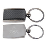 Corbetta Key Holder-Square and Compass with G Engraved