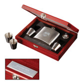 Stainless Steel Flask Set-Freemasons Engraved