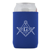 Neoprene Royal Can Holder-Square and Compass with G
