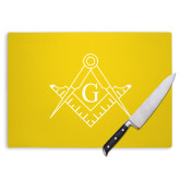 Cutting Board-Square and Compass with G