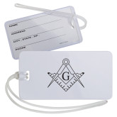 Luggage Tag-Square and Compass with G