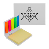 Micro Sticky Book-Square and Compass with G