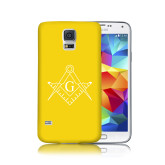 Galaxy S5 Phone Case-Square and Compass with G