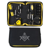 Compact 23 Piece Tool Set-Square and Compass with G