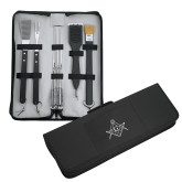 Grill Master Traditional BBQ Set-Square and Compass with G