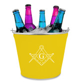 Metal Ice Bucket w/Neoprene Cover-Square and Compass with G
