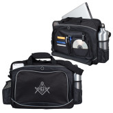 Hive Checkpoint Friendly Black Compu Case-Square and Compass with G