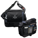 Excel Black/Blue Saddle Brief-Square and Compass with G