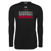Under Armour Black Long Sleeve Tech Tee-Basketball Triple Stacked