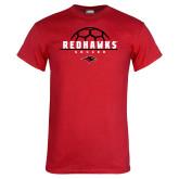 Red T Shirt-Soccer Ball Design