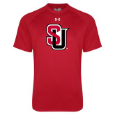 Under Armour Red Tech Tee-Tertiary Mark