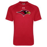 Under Armour Red Tech Tee-RedHawk Head
