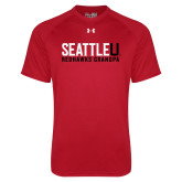 Under Armour Red Tech Tee-Grandpa