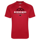 Under Armour Red Tech Tee-Soccer Ball Design