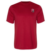 Performance Red Tee-Tertiary Mark