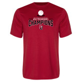 Performance Red Tee-2018 WAC Champions