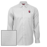 Red House White Diamond Dobby Long Sleeve Shirt-Tertiary Mark