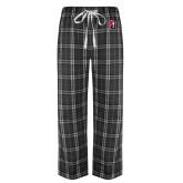 Black/Grey Flannel Pajama Pant-Tertiary Mark