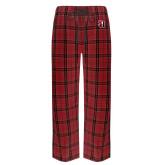 Red/Black Flannel Pajama Pant-Tertiary Mark