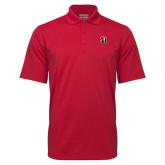 Red Mini Stripe Polo-Tertiary Mark