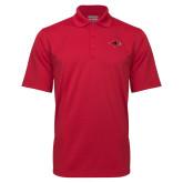 Red Mini Stripe Polo-RedHawk Head