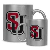 Full Color Silver Metallic Mug 11oz-Tertiary Mark