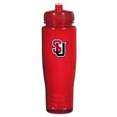 Spectrum Red Sport Bottle 28oz-Tertiary Mark