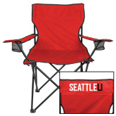Deluxe Red Captains Chair-Primary Mark