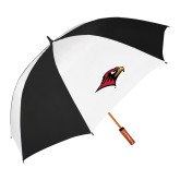 64 Inch Black/Whit Umbrella-RedHawk Head