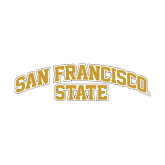 Small Decal-San Francisco State, 6 in. wide