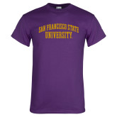Purple T Shirt-San Francisco State University