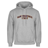 Grey Fleece Hoodie-San Francisco State