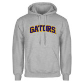 Grey Fleece Hoodie-Gators