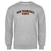 Grey Fleece Crew-San Francisco State