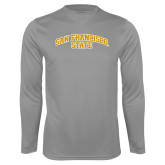 Performance Steel Longsleeve Shirt-San Francisco State