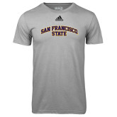 Adidas Climalite Sport Grey Ultimate Performance Tee-San Francisco State