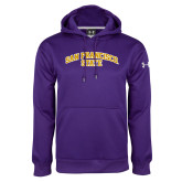 Under Armour Purple Performance Sweats Team Hoodie-San Francisco State