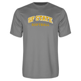 Performance Grey Concrete Tee-Softball