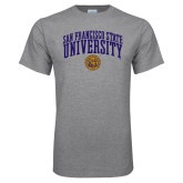 Grey T Shirt-San Francisco State University