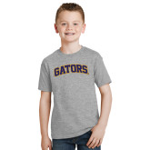 Youth Grey T-Shirt-Gators