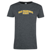 Ladies Dark Heather T Shirt-San Francisco State