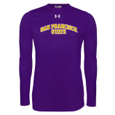 Under Armour Purple Long Sleeve Tech Tee-San Francisco State