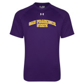 Under Armour Purple Tech Tee-San Francisco State