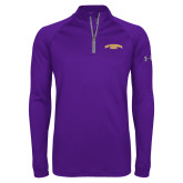 Under Armour Purple Tech 1/4 Zip Performance Shirt-San Francisco State