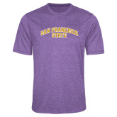 Performance Purple Heather Contender Tee-San Francisco State