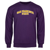 Purple Fleece Crew-San Francisco State